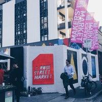 Photo taken at Rose Street Artists' Market by earthkid j. on 5/13/2017