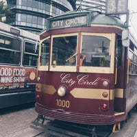 Photo taken at Tram Stop 5 - Melbourne Central (19/57/59) by earthkid j. on 5/14/2017