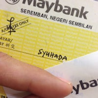Photo taken at Maybank by Syued A. on 1/22/2014