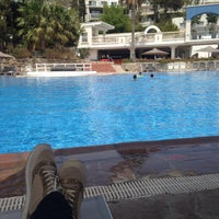 Photo taken at İsis Hotel Pool by Tuba S. on 4/22/2016