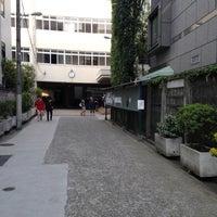 Photo taken at 麻布学園 麻布中学校・高等学校 by motoari E. on 4/16/2013