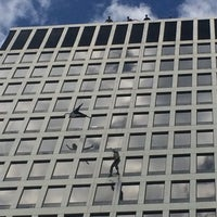 Photo taken at Five Star Bank Plaza by Bianca S. on 9/15/2015