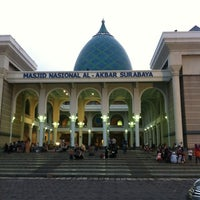Photo taken at Masjid Nasional Al-Akbar by Panji E. on 7/27/2013