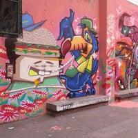 Photo taken at Quadra Polivalente Estação Metrô-Rio Flamengo by Sabrina C. on 10/28/2015