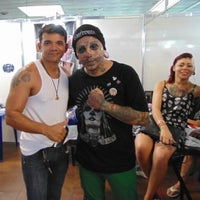 Photo taken at TattooDay by Celo G. on 9/21/2014