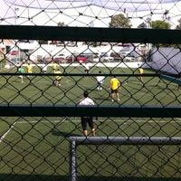 Photo taken at Centro Deportivo 'Don Bosco' by Wen M. on 10/17/2013