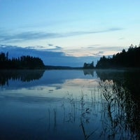Photo taken at Jäppilänniemi by Vladimir D. on 7/12/2015
