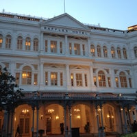 Photo taken at Raffles Hotel by Dheng d. on 6/28/2013