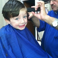 Photo taken at Barber Shop by Deb H. on 9/21/2012