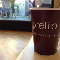 Photo taken at Pretto Gelato Arte Italiana by Andrea N. on 8/16/2013