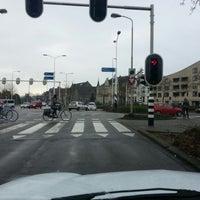 Photo taken at Zwartbroekplein by Maurits K. on 12/21/2012