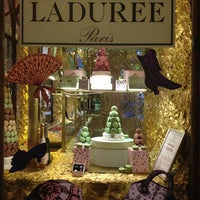 Photo taken at Ladurée by Gela K. on 1/28/2013