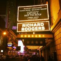 2/6/2013にАндрей А.がRichard Rodgers Theatreで撮った写真