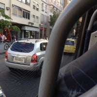 Photo taken at Linha 580 - Largo do Machado / Cosme Velho by Marco C. on 9/20/2013