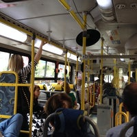 Photo taken at Linha 580 - Largo do Machado / Cosme Velho by Marco C. on 10/15/2013