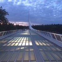 Photo taken at Sundial Bridge by Oliver L. on 8/13/2014