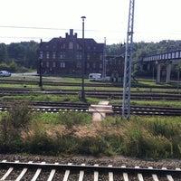 Photo taken at Bahnhof Elstal by Алексей on 9/21/2013