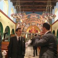 Photo taken at St Nicholas Greek Orthodox Church by Tony B. on 7/21/2013