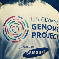 Photo taken at U.S. Olympic Genome Project Created by Samsung by Esteban C. on 4/18/2012