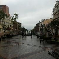 Photo taken at Приморский Арбат by Ogurtsoff on 8/18/2012