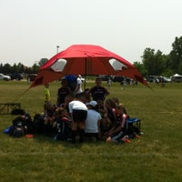 Photo taken at PCMB Grass Field by Steve M. on 5/27/2012