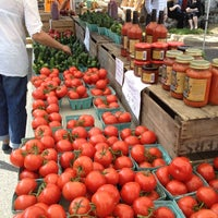 Photo taken at Del Ray Farmers' Market by Jen C. on 5/5/2012