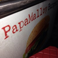 Photo taken at Papamalloy Burger by Dak L. on 2/14/2014