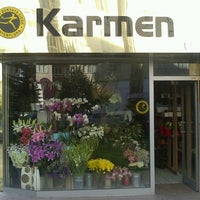 Photo taken at Karmen Çiçekcilik by Ferit B. on 10/1/2013