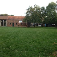 Photo taken at Ferme des Guides et Scouts by Ludovic G. on 10/20/2013