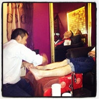 Photo taken at Cutie Nails by David A. on 11/25/2012