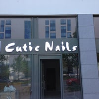 Photo taken at Cutie Nails by David A. on 10/10/2012