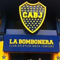 "Foto tirada no(a) Estadio Alberto J. Armando ""La Bombonera"" (Club Atlético Boca Juniors) por Danijel I. em 1/8/2013"