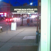 Photo taken at Pittsburgh Steak Company by Bob D. on 3/14/2013