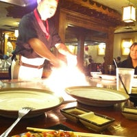 Photo taken at Ukai Japanese Steak House by Ted O. on 11/10/2012