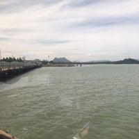 Photo taken at Don Sak Pier by Денис Б. on 5/19/2017