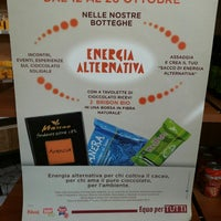 Photo taken at Bottega Angoli di Mondo Coop. Sociale by Cristina S. on 10/12/2013