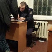 Photo taken at Ірпінське РУ ГУ МВС України by Никита М. on 2/28/2014