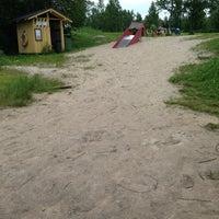 Photo taken at Tyvelänniemi by teijo h. on 6/22/2013