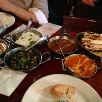 Photo taken at Brick Lane Curry House by Eileen on 11/18/2013