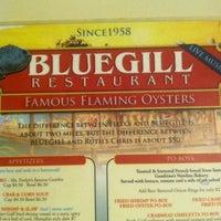 Photo taken at Bluegill Restaurant by CJ S. on 10/6/2013