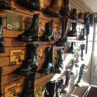 Photo taken at Stompers Boots by Jonathan D. on 10/27/2012