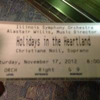 Foto tomada en Public Affairs Center (PAC) at the University of Illinois Springfield por Ron B. el 11/18/2012