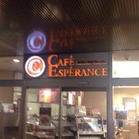 Photo taken at Cafe Esperance by Jeffrey B. on 11/18/2015
