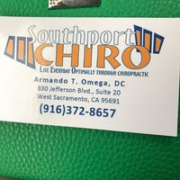 Photo taken at Southport Chiropractic by Michaelyn D. on 2/16/2017