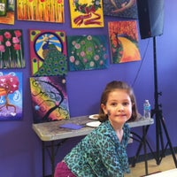 Photo taken at Paint by the glass by Beth H. on 2/16/2013