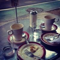 Photo taken at Borgia II Cafe by Leila R. on 4/15/2013