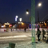 Photo taken at Aksel Larsens Plads by Filip Ch. on 12/5/2012