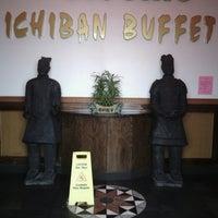 Photo taken at Ichiban Buffet by J.L. W. on 6/26/2013