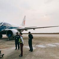Photo taken at Zhanjiang Airport (ZHA) by Luke Y. on 2/21/2018
