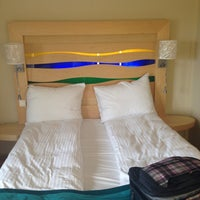 Photo taken at Radisson Blu Royal Garden Hotel by Elena on 5/19/2014